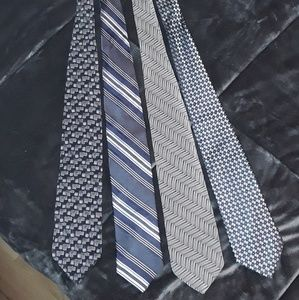 MEN'S TIE BUNDLE OF 4 TIES